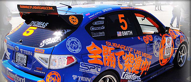 Vehicle Racing Graphics in Las Vegas